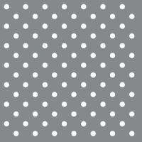 Cocktail Servietten DOTS SILVER