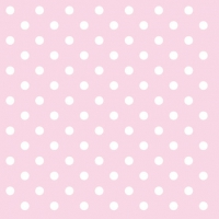 Cocktail Servietten PASTEL DOTS ROSE