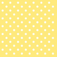 Cocktail Servietten DOTS YELLOW