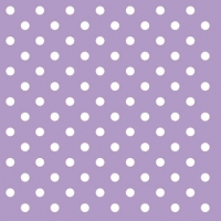 Cocktail Servietten PASTEL DOTS LILA