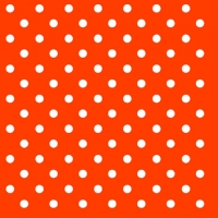 Cocktail Servietten DOTS ORANGE