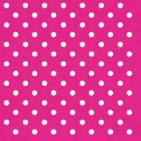 Cocktail Servietten DOTS MAGENTA