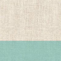 Cocktail Servietten Linen Aqua