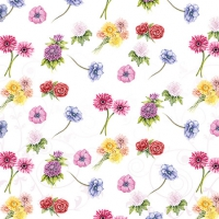 Cocktail Servietten Flower Festival