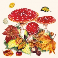 Cocktail Servietten Fly Agaric