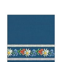 Servietten 25x25 cm - Bavarian Flowers Blue