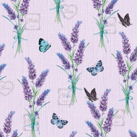 Servietten 25x25 cm - Lavender With Love Lilac