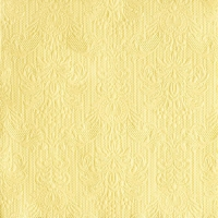 Lunch Servietten ELEGANCE LIGHT YELLOW