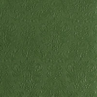 Servietten 33x33 cm - Elegance Dark Green