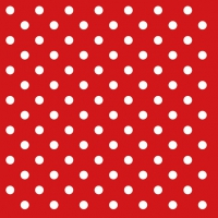 Lunch Servietten DOTS RED
