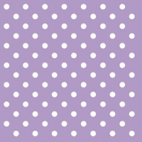 Lunch Servietten PASTEL DOTS LILA