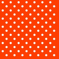 Lunch Servietten Dots Orange