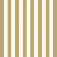 Lunch Servietten Stripes Gold