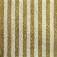 Servietten 33x33 cm - Elegance Stripes Gold