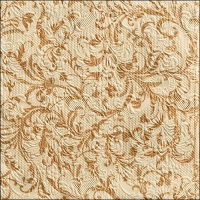 Lunch Servietten ELEGANCE DAMASK CR/BRONZE