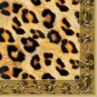 Lunch Servietten LEOPARD ORNAMENT