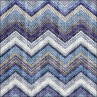 Lunch Servietten Textured Chevron Blue