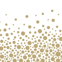 Lunch Servietten Sparkling Dots Gold