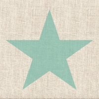 Lunch Servietten Star Linen Aqua