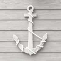 Lunch Servietten Wooden Anchor White