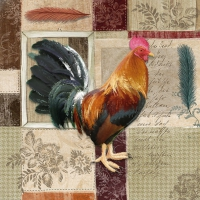 Lunch Servietten French Rooster