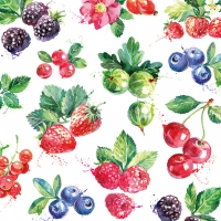 Servietten 33x33 cm - Mixed Fruit