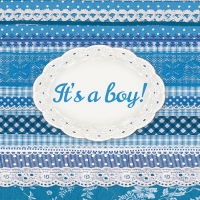 Servietten 33x33 cm - It´s A Boy