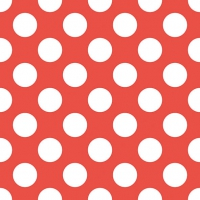 Lunch Servietten Big Dots Red