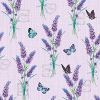 Napkins 33x33 cm - Lavender With Love Lilac