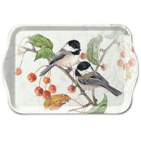 Tablett - 13X21cm Chickadee