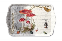 Tablett - 13X21cm Fly Agaric And Beetle
