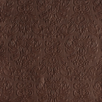 Servietten 40x40 cm - Elegance Brown