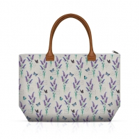 Handtasche - Lavender With Love Cream
