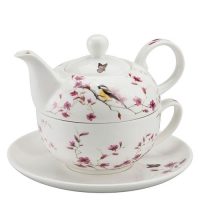 Tea 4 One Bird & Blossom White
