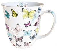 Porcelain Cup - butterfly