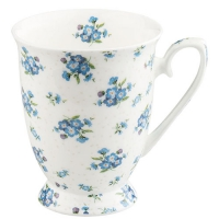 Porcelain Cup - Forget Me Not