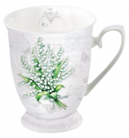Porzellan-Tasse - Lily of the Valley