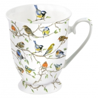 Porzellan-Tasse - Birds Meeting
