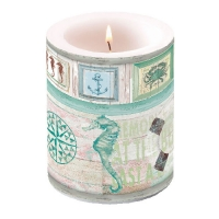 Kerze Candle Big Under The Sea