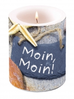 Kerze Candle Big Moin Moin