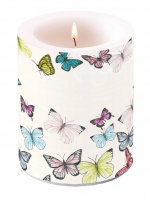 Kerze Candle Big Butterfly