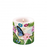 Decorative candle small - Romantic Pure