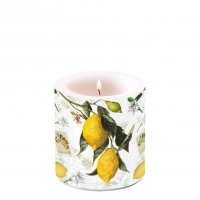 Decorative candle small - Lemon