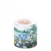 Decorative candle small - Lake View