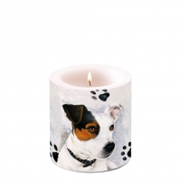 Decorative candle small - Jack Russel