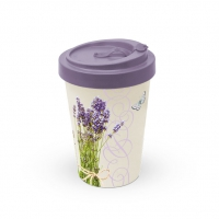 Bamboo mug To-Go - Bunch Of Lavender