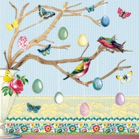 Servietten 25x25 cm - Easter Branch