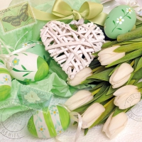Servietten 33x33 cm - Easter Love