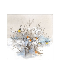 Servietten 25x25 cm - Birds On Branches