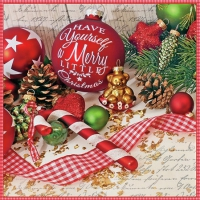 Servietten 25x25 cm - Merry Little Christmas